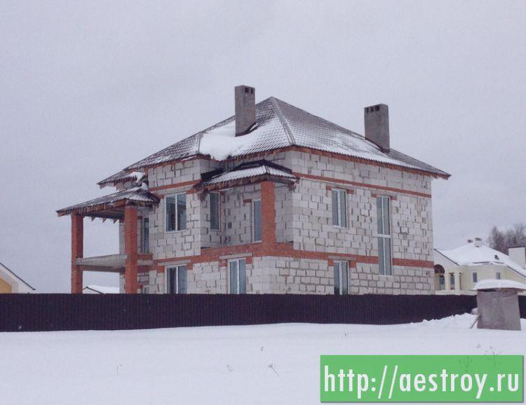 Строительство загородных каменных домов из кирпича, пеноблоков