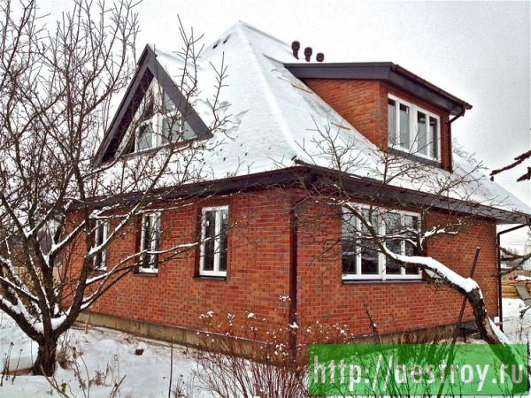 Зимний каркасный дом, стриотельная компания АртЭко Строй