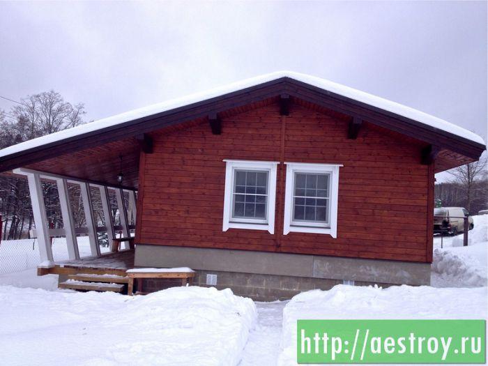 Каркасный дом, построенный нашей компанией
